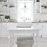 Kuchnia w odcieniach bieli
