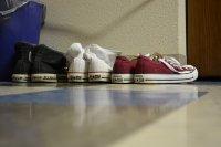 buty w przedpokoju